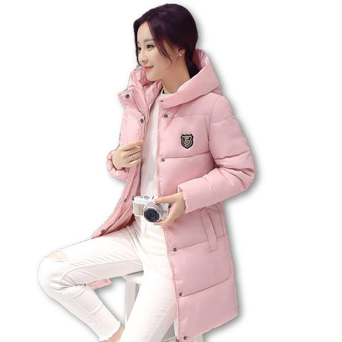 2016 Down parka women autumn winter coat down long coat 8665 winter jacket women coat - Dollar Bargains - 6