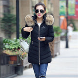 Hot!New warm Autumn Winter jacket women 2016 Fashion Women coat thick hoody winter coat slim women parka warm womens Down jacket - Dollar Bargains - 6