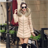 Hot!New warm Autumn Winter jacket women 2016 Fashion Women coat thick hoody winter coat slim women parka warm womens Down jacket - Dollar Bargains - 3