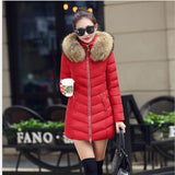 Hot!New warm Autumn Winter jacket women 2016 Fashion Women coat thick hoody winter coat slim women parka warm womens Down jacket - Dollar Bargains - 7