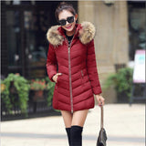 Hot!New warm Autumn Winter jacket women 2016 Fashion Women coat thick hoody winter coat slim women parka warm womens Down jacket - Dollar Bargains - 4
