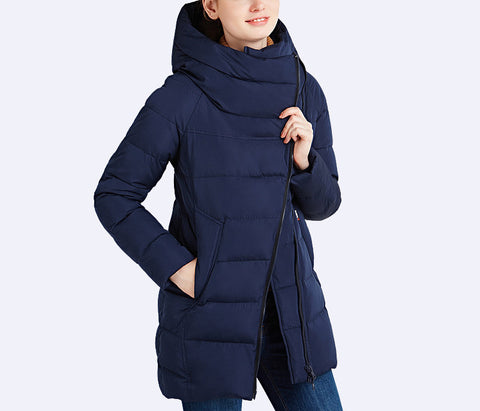 IECbear 2016 New Winter Collection Women's Parka Hooded Warm Jacket New Fashion Brand High Quality Thick Outwear Coat 16G607 - Dollar Bargains - 1