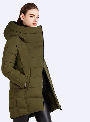 IECbear 2016 New Winter Collection Women's Parka Hooded Warm Jacket New Fashion Brand High Quality Thick Outwear Coat 16G607 - Dollar Bargains - 3