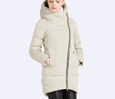 IECbear 2016 New Winter Collection Women's Parka Hooded Warm Jacket New Fashion Brand High Quality Thick Outwear Coat 16G607 - Dollar Bargains - 7