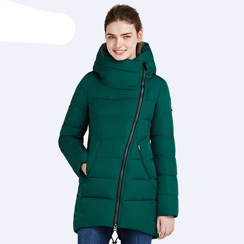 IECbear 2016 New Winter Collection Women's Parka Hooded Warm Jacket New Fashion Brand High Quality Thick Outwear Coat 16G607 - Dollar Bargains - 5