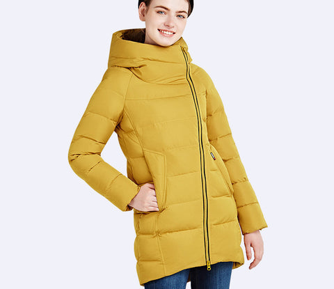 IECbear 2016 New Winter Collection Women's Parka Hooded Warm Jacket New Fashion Brand High Quality Thick Outwear Coat 16G607 - Dollar Bargains - 2