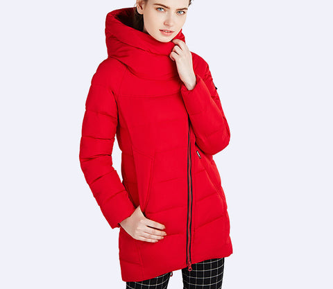 IECbear 2016 New Winter Collection Women's Parka Hooded Warm Jacket New Fashion Brand High Quality Thick Outwear Coat 16G607 - Dollar Bargains - 6