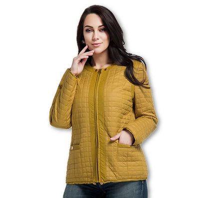 Astrid New High-Quality Women Jacket Autumn and Winter Coat Plus Size Jacket Fashion Leisure Brand Women L-5XL AM-1590-Dollar Bargains Online Shopping Australia