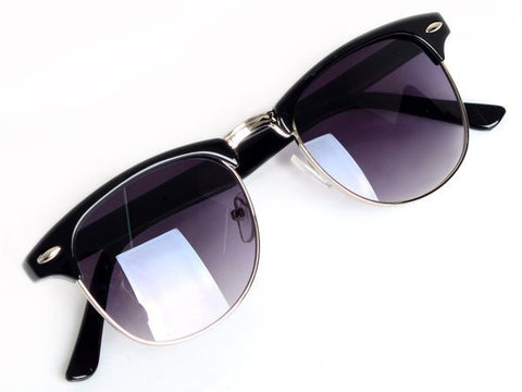 Vintage Retro Sunglasses Women Brand Designer Golden Frame Mirrored Sun Glasses Fashion-Dollar Bargains Online Shopping Australia