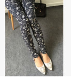 High Quality 16 COLOURS Women's girl's casual High Elastic printed Leggings Fitness Comfortable leggins pants LG023-Dollar Bargains Online Shopping Australia