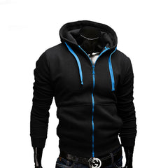 new fashion Sweatshirt men hit color men hoodies hip hop side zipper mensports suit slim-Dollar Bargains Online Shopping Australia
