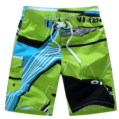 Fashion Quick Dry Men Shorts Brand Summer Casual Clothing Geometric Swimwears Beach Shorts Men's Board Shorts Q3-Dollar Bargains Online Shopping Australia