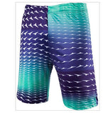 2016 Hot Summer New European and American High-quality Men's Fashion Mixed Colors Geometric Stitching Casual Beach Shorts - Dollar Bargains - 2