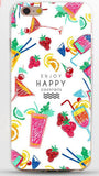 New Arrival Ultrathin Soft TPU Case for iphone 5 5s SE 6 6s 7 6plus Flowers Daisy Plants Fruit Cactus Leaves pattern Phone Case-Dollar Bargains Online Shopping Australia