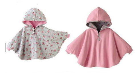 Baby Coats boys girl Smocks Outwear Fleece cloak Jumpers mantle Children's clothing Poncho Cape Christmas Clothing-Dollar Bargains Online Shopping Australia