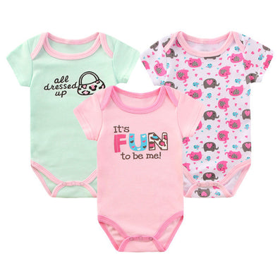 2016 Baby Body Baby Bodysuit Clothing For Newborn Baby Clothes Girl Boy Bodysuit Overalls Cotton Cute Handbag Ropa Bebes Clothes - Dollar Bargains - 3