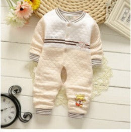 Baby Rompers Autumn long-sleeved Cute cotton Boys Girls clothing Comfortable Cotton Jumpsuit Crawling Coverall Clothing-Dollar Bargains Online Shopping Australia