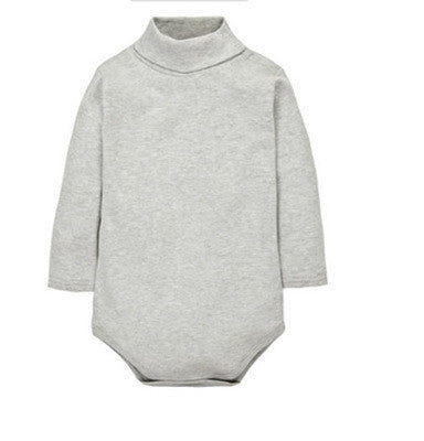 6 Color Baby Clothing Newborn baby boys girls clothes Jumpsuit Long Sleeve  Infant Product solid turn 71a399c0c