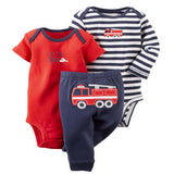 100% Cotton 3-24M set baby boy clothes baby girl clothes newborn 3piece ropa bebe boy-Dollar Bargains Online Shopping Australia