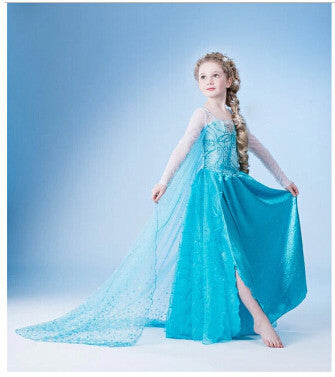 2017 New baby girls Dress Cinderella Cosplay Costume Party Dress Princess Dress Cinderella Costume-Dollar Bargains Online Shopping Australia