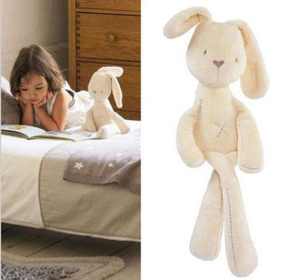 54*11CM Cute Baby Kids Animal Rabbit Sleeping Comfort Doll Plush Toy-Dollar Bargains Online Shopping Australia