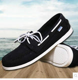 2016 British Style Fashion Men Boat Shoes Spring Autumn Youth Lace Up Casual Comfortable Flat Men Shoes Round Toe Men Shoes - Dollar Bargains - 8