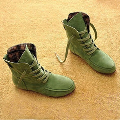 Autumn and Winter Boots Snow Boots for Women and Men Martin Boots Suede Leather Boots Couples Shoes Cotton-Dollar Bargains Online Shopping Australia