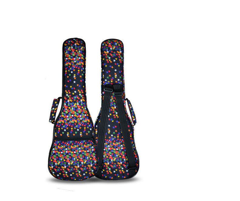 "7Thicker Protable 23""24""inches concert ukulele case girl boy kid gift small bass guitar bag hawai soft gig cover backpack lanikai"