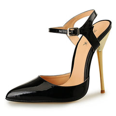 Black Stilettos Women Pumps Wedding Shoes High Heel Pumps Quality Ladies Pumps Fashion Sex Pointed Toe Party Wedding Shoes-Dollar Bargains Online Shopping Australia