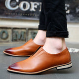 2016 Spring Autumn Loafers Men Oxford Flat Shoes Top brand Men Moccasins Shoes Leather Men Shoes Casual zapatos hombre EPP046 - Dollar Bargains - 8