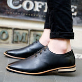 2016 Spring Autumn Loafers Men Oxford Flat Shoes Top brand Men Moccasins Shoes Leather Men Shoes Casual zapatos hombre EPP046 - Dollar Bargains - 3