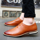 2016 Spring Autumn Loafers Men Oxford Flat Shoes Top brand Men Moccasins Shoes Leather Men Shoes Casual zapatos hombre EPP046 - Dollar Bargains - 6
