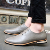 2016 Spring Autumn Loafers Men Oxford Flat Shoes Top brand Men Moccasins Shoes Leather Men Shoes Casual zapatos hombre EPP046 - Dollar Bargains - 5