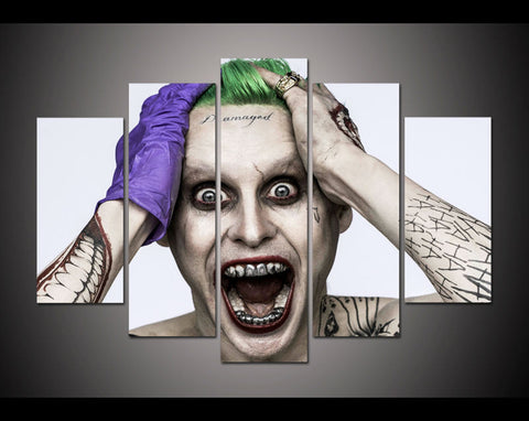Framed Print Halloween joker picture poster modern home decor kids wall art print Halloween Painting on canvas Wall art /PT0034-Dollar Bargains Online Shopping Australia