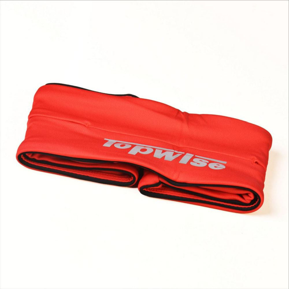 Red SOutdoor Sport Multifunction Sport bag Stretch Men/women running bag WaistBand Phone Cases suit for Gym Fitness/Cycling/On foot