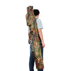 Fishing Tackle Bag 120/150cm Fishing Rod Bag Multifunctional Camouflage Double Layer Outdoor Fishing Bag Lixada New Arrival-Dollar Bargains Online Shopping Australia
