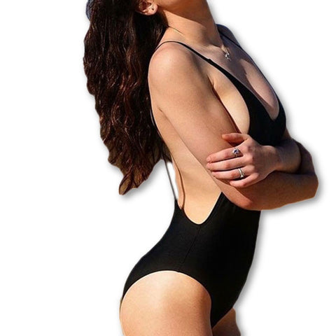 bodysuit Sexy 1 one piece swimsuit Backless Swimwear women Bathing suit swimming suit for women Monokini beach wear V111-Dollar Bargains Online Shopping Australia