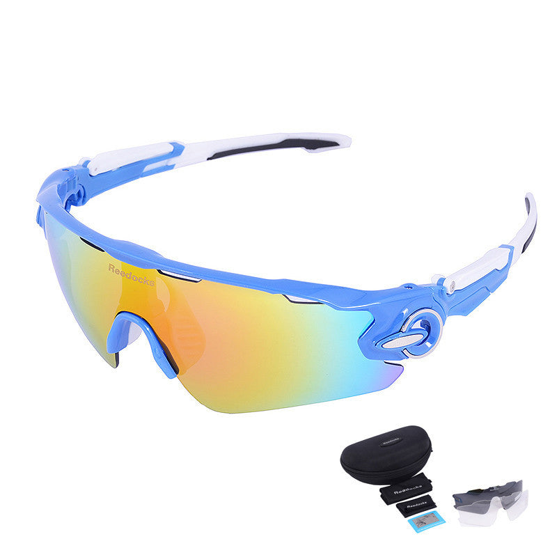 C083 Lens Mens Bike Sunglasses Brand Designer Men's Outdoor Gafas Sports Polarized Cycling Glasses For Women UV400 Goggles