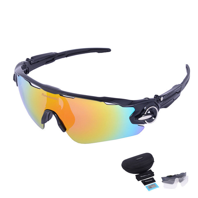C053 Lens Mens Bike Sunglasses Brand Designer Men's Outdoor Gafas Sports Polarized Cycling Glasses For Women UV400 Goggles