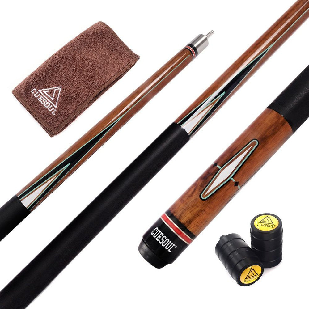 Billiard Pool Cue Stick With 13mm Cue Tip Five Color For