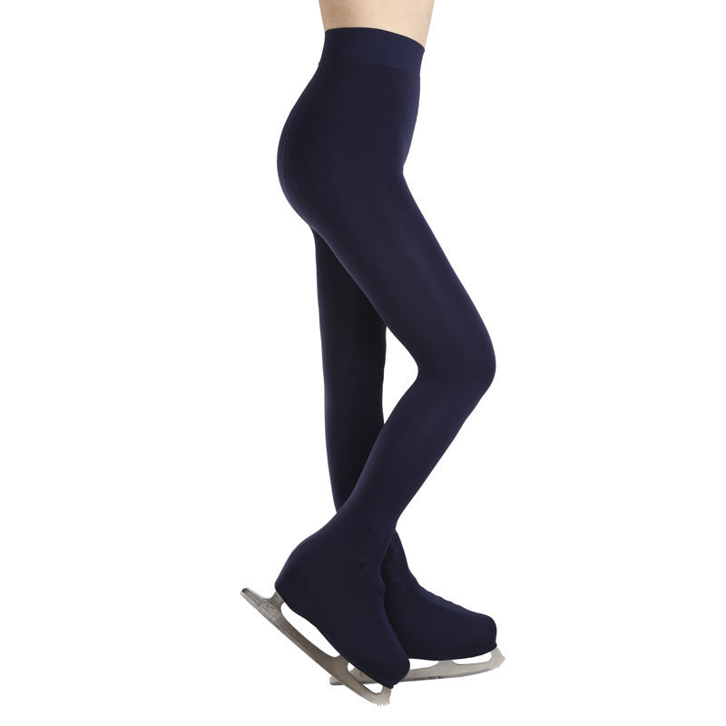 Ice Skating Skateboarding Figure Skating Pants Thermal Long Pantynose Pantyhose Ice Shate With Shoes Cover Children AdultOne Size