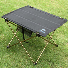Outdoor Camping Portable Aluminium Alloy Tables Waterproof Ultra-light Durable Folding Table Desk For Picnic 690g-Dollar Bargains Online Shopping Australia