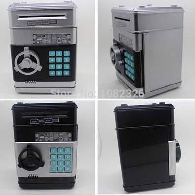 Voice ATM roll money money box Intelligent piggy bank little Password safe-Dollar Bargains Online Shopping Australia