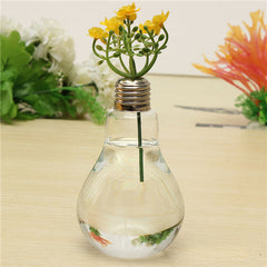5pcs Bulb Ttype Aquiculture Container Glass Vase Flower Plant Water Container Family Wedding Decoration 12x8cm-Dollar Bargains Online Shopping Australia