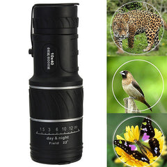 High Quality Adjustable 10X40 Mini Dual Focus Optic Lens Outdoor Travel Monocular Telescope Tourism Scope Binoculars-Dollar Bargains Online Shopping Australia
