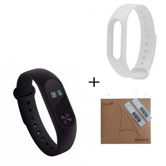Original Xiaomi Mi Band 2 Miband Band2 Wristband Bracelet with Smart Heart Rate Fitness Touchpad OLED-Dollar Bargains Online Shopping Australia