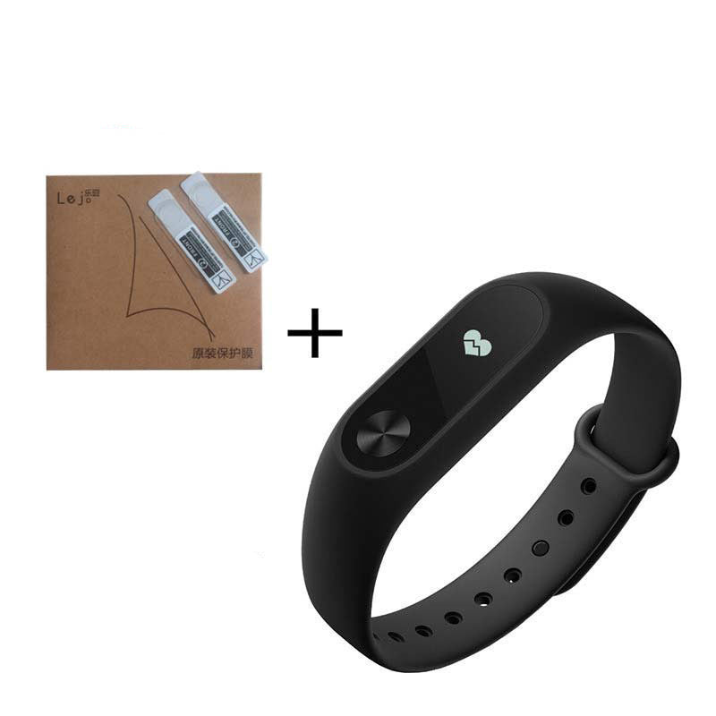 Standard and GiftOriginal Xiaomi Mi Band 2 Miband Band2 Wristband Bracelet with Smart Heart Rate Fitness Touchpad OLED