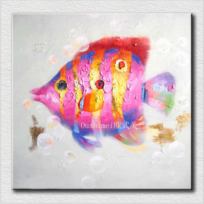 Fish wall art Fashion home decoration unframed canvas wall art wall decor for Living room painting kids room-Dollar Bargains Online Shopping Australia
