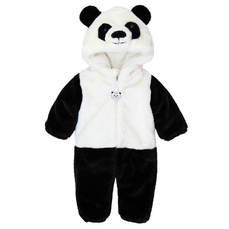 Panda / 0-3 monthsAnimal Panda One Piece Long Sleeve Cotton Newborn Baby Romper Baby Costume Clothing Clothes