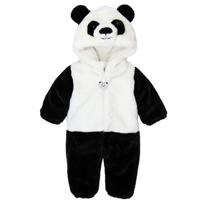 Animal Panda One Piece Long Sleeve Cotton Newborn Baby Romper Baby Costume Clothing Clothes-Dollar Bargains Online Shopping Australia